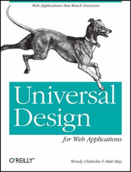 Design Books - Universal Design for Web Applications: Web Applications That Reach Everyone