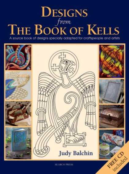 Design Books - Designs from the Book of Kells: A Source Book of Designs Specially Adapted for C