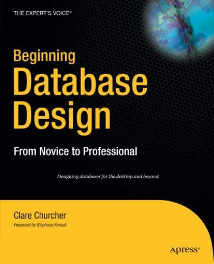 Design Books - Beginning Database Design: From Novice to Professional