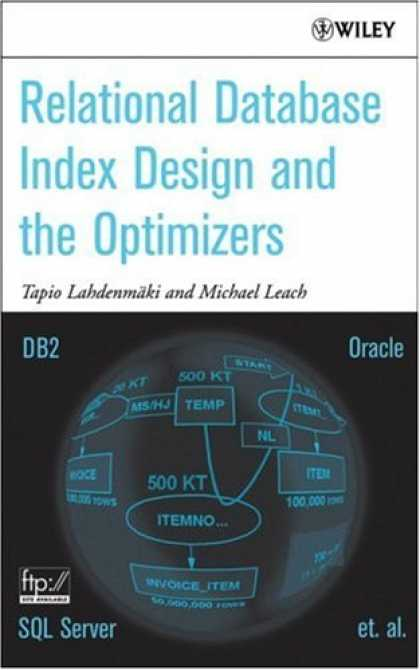 Design Books - Relational Database Index Design and the Optimizers