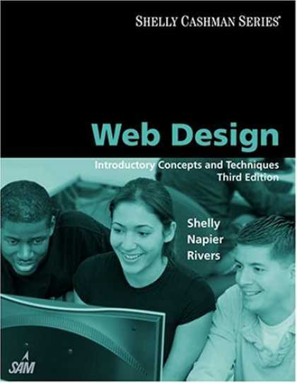 Design Books - Web Design: Introductory Concepts and Techniques (Shelly Cashman)
