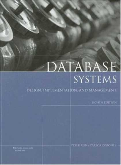 Design Books - Database Systems: Design, Implementation, and Management