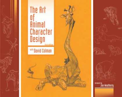Design Books - The Art of Animal Character Design