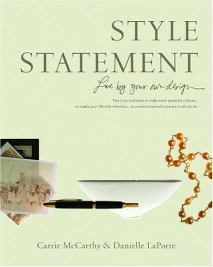 Design Books - Style Statement: Live by Your Own Design