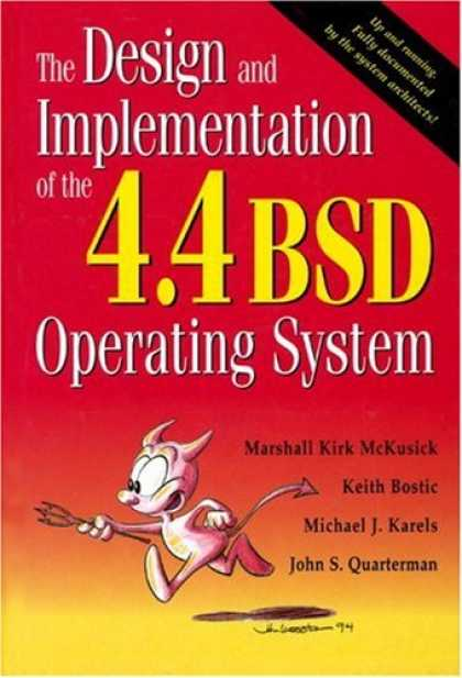 Design Books - The Design and Implementation of the 4.4 BSD Operating System (Addison-Wesley UN