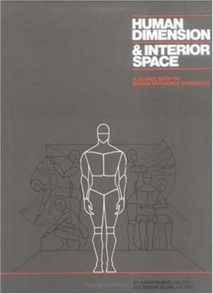 Design Books - Human Dimension and Interior Space: A Source Book of Design Reference Standards