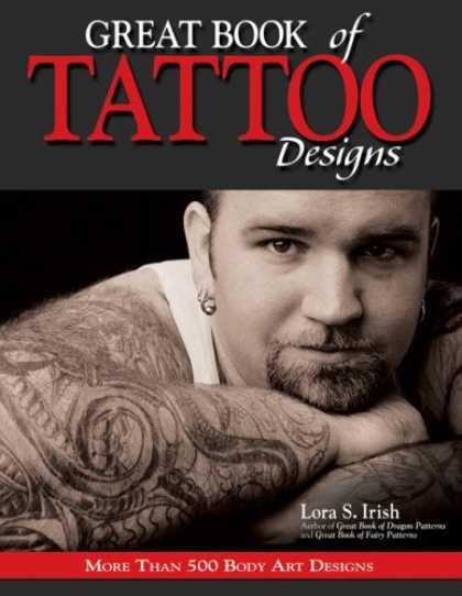Design Books - Great Book of Tattoo Designs: More than 500 Body Art Designs