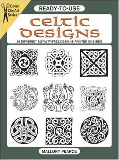 Design Books - Ready-to-Use Celtic Designs: 96 Different Royalty-Free Designs Printed One Side