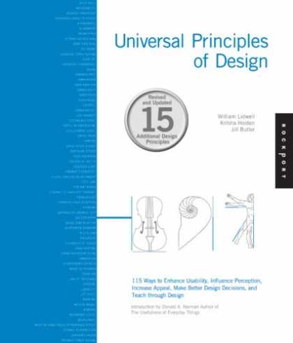 Design Books - Universal Principles of Design, Revised and Updated: 115 Ways to Enhance Usabili