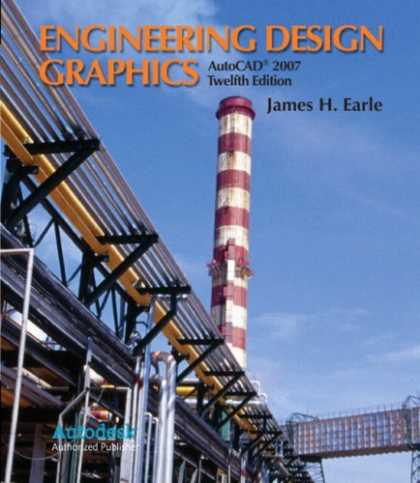 Design Books - Engineering Design Graphics with AutoCAD 2007 (12th Edition)
