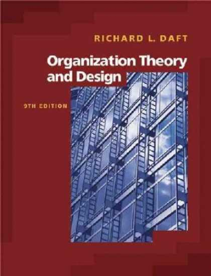 Design Books - Organization Theory And Design with Infotrac