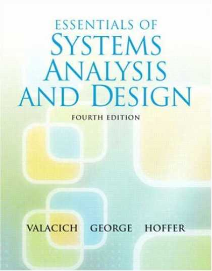 Design Books - Essentials of System Analysis and Design (4th Edition)