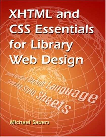 Design Books - XHTML and CSS Essentials for Library Web Design
