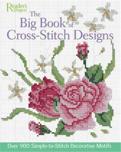 Design Books - The Big Book of Cross-Stitch Designs: Over 900 Simple-to-Sew Decorative Motifs