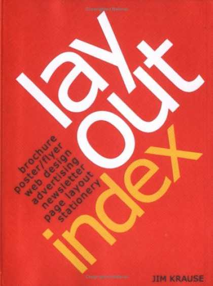 Design Books - Layout Index: Brochure, Web Design, Poster, Flyer, Advertising, Page Layout, New