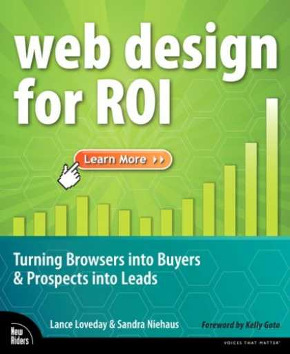 Design Books - Web Design for ROI: Turning Browsers into Buyers & Prospects into Leads