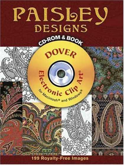 Design Books - Paisley Designs CD-ROM and Book (Pictorial Archive Series)