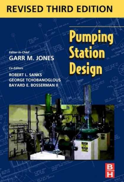 Design Books - Pumping Station Design, 3rd Edition