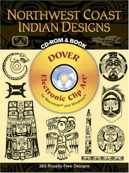Design Books - Northwest Coast Indian Designs CD-ROM and Book (Electronic Clip Art)