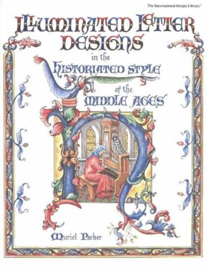 Design Books - Illuminated Letter Designs (International Design Library)