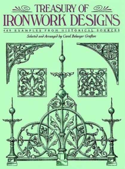 Design Books - Treasury of Ironwork Designs: 469 Examples from Historical Sources (Dover Pictor