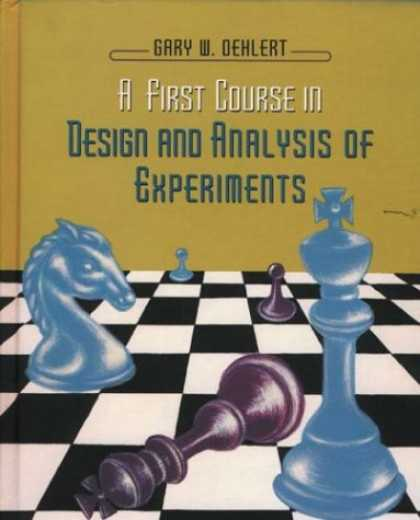 Design Books - A First Course in Design and Analysis of Experiments