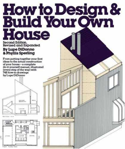 Design Books - How to Design and Build Your Own House