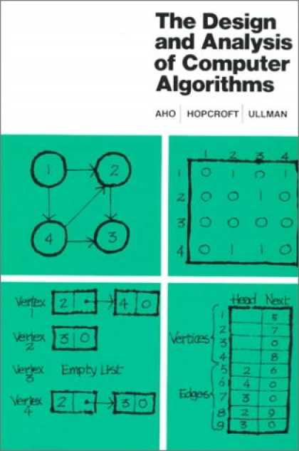 Design Books - The Design and Analysis of Computer Algorithms (Addison-Wesley Series in Compute