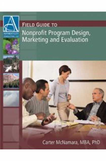 Design Books - Field Guide to Nonprofit Program Design, Marketing and Evaluation