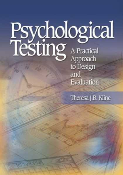 Design Books - Psychological Testing: A Practical Approach to Design and Evaluation