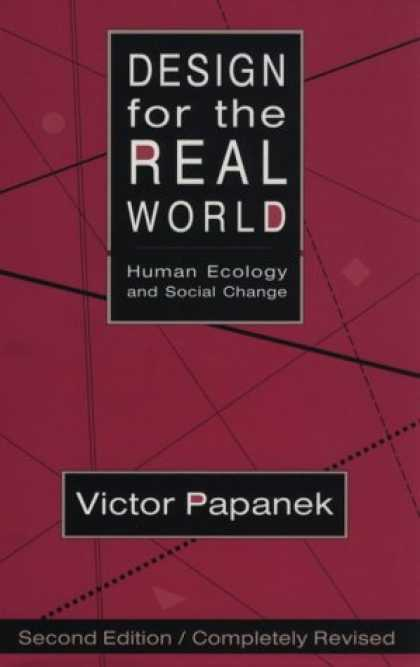 Design Books - Design for the Real World: Human Ecology and Social Change