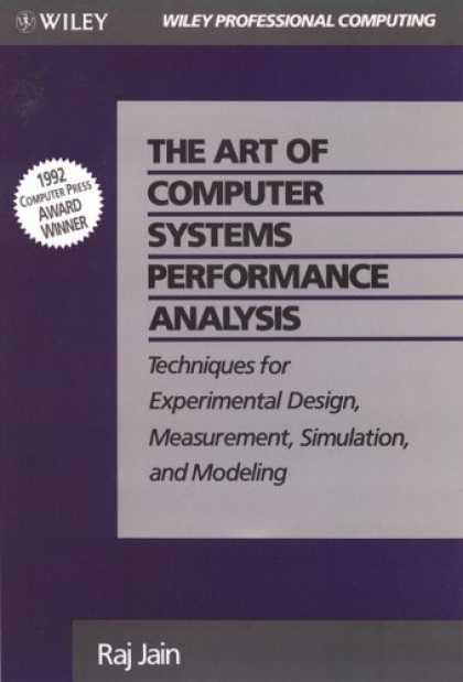 Design Books - The Art of Computer Systems Performance Analysis: Techniques for Experimental De
