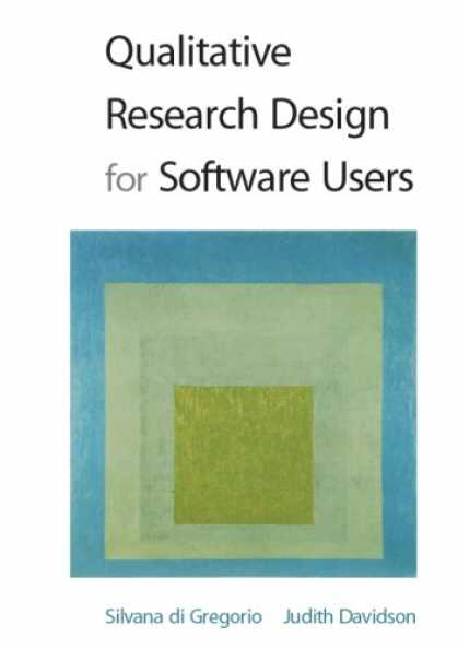 Design Books - Qualitative Research Design for Software Users
