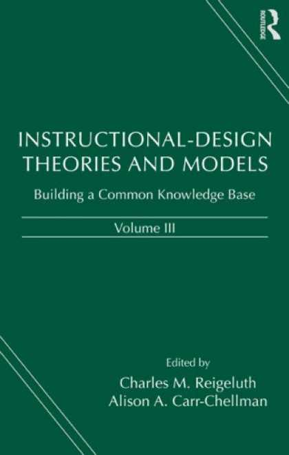 Design Books - Instructional-Design Theories and Models, Volume III