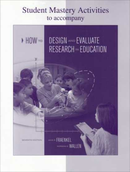 Design Books - Student Mastery Activities Book for use with How to Design and Evaluate Research