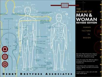 Design Books - The Measure of Man and Woman: Human Factors in Design