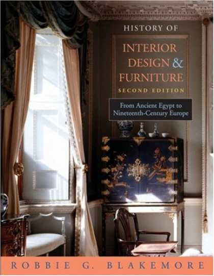 Design Books - History of Interior Design and Furniture: From Ancient Egypt to Nineteenth-Centu