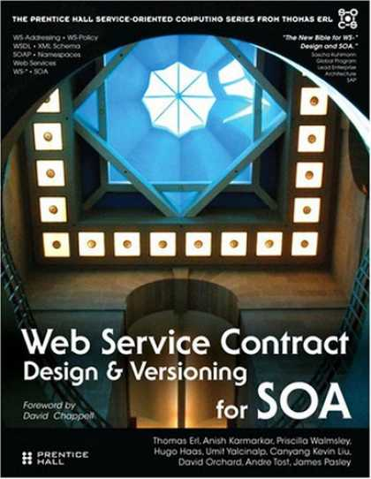 Design Books - Web Service Contract Design and Versioning for SOA (Prentice Hall Service-Orient