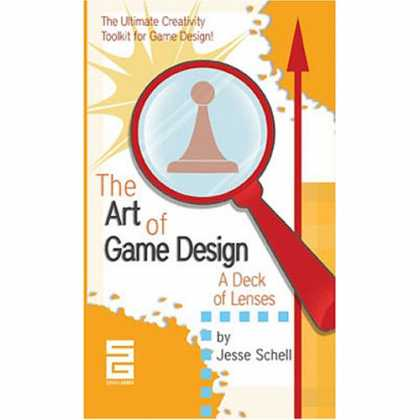 Design Books - The Art of Game Design: A Deck of Lenses
