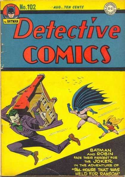 Detective Comics 102 - Batman - Robin - House - Joker - Ransom