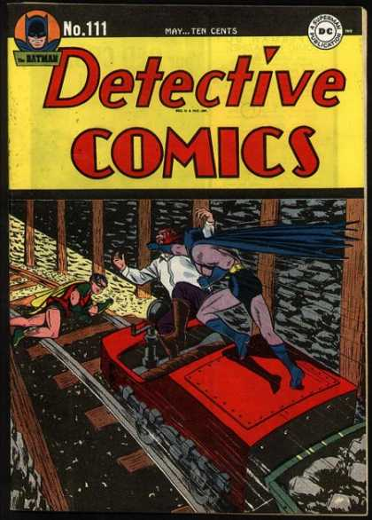 Detective Comics 111 - Robin - Batman - May - Ten Cents - Superman Publication