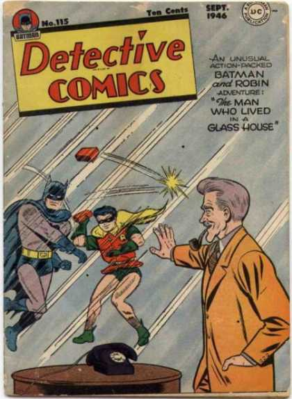 Detective Comics 115 - Phone - Brick