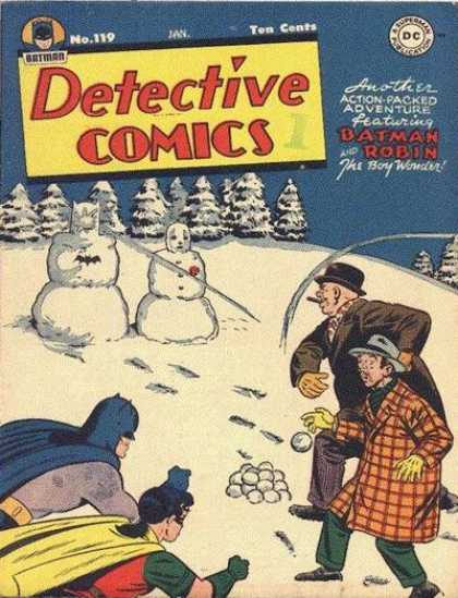 Detective Comics 119 - Snow - Snowman - Batman
