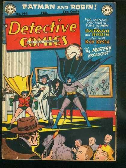 Detective Comics 144 - Batman - Robin - No 144 - Feb - Gun Shot
