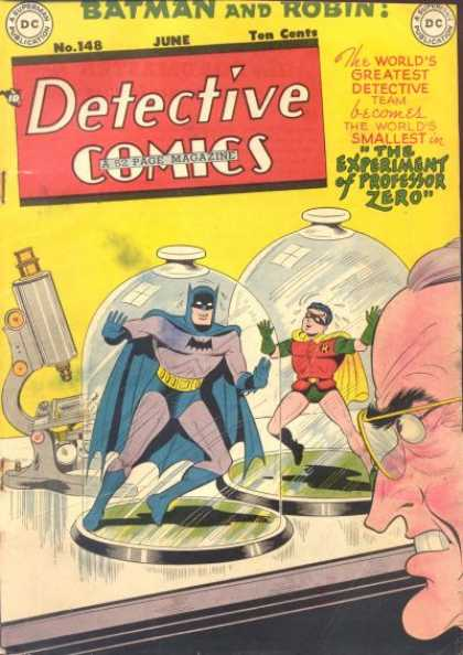 Detective Comics 148 - Illustration - Heros - Dawson - Science - Detection