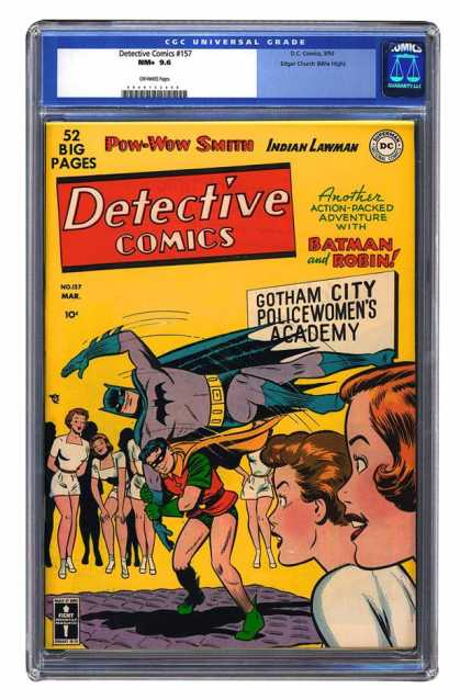 Detective Comics 157 - Batman - Pow-wow Smith - Gotham City - Action-packed Adventure - People