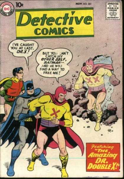 Detective Comics 261 - Robin - Batman - Dc - 10 Cents - Speech Bubble