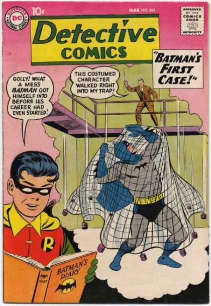 Detective Comics 265 - Batman - Diary - Robin - Net