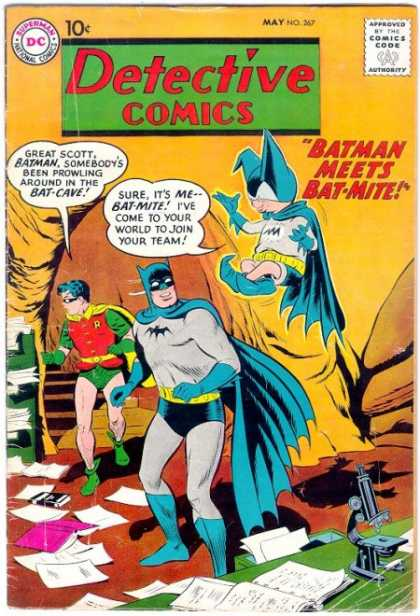 Detective Comics 267 - Bat-mite - Batman - Bat-cave - Detective - Comics