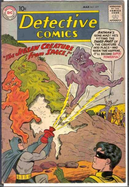 Detective Comics 277 - Powerful - Space - Dc - Creatures - Comics